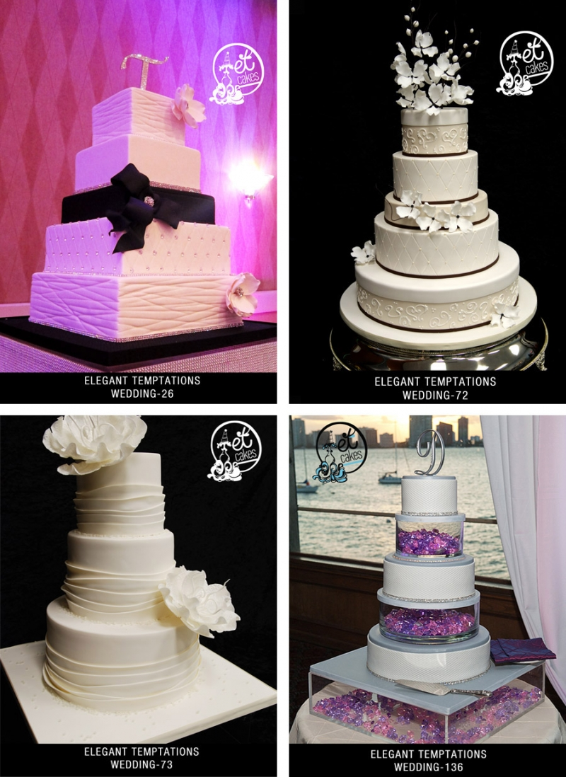Cake Design Hialeah : Miami Custom Wedding Cake Designs Elegant Temptations