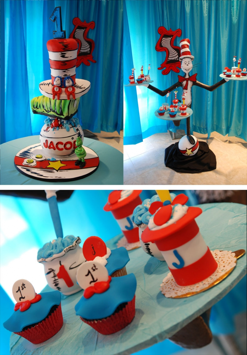 Birthday Cake Cat In The Hat Image Inspiration of Cake and