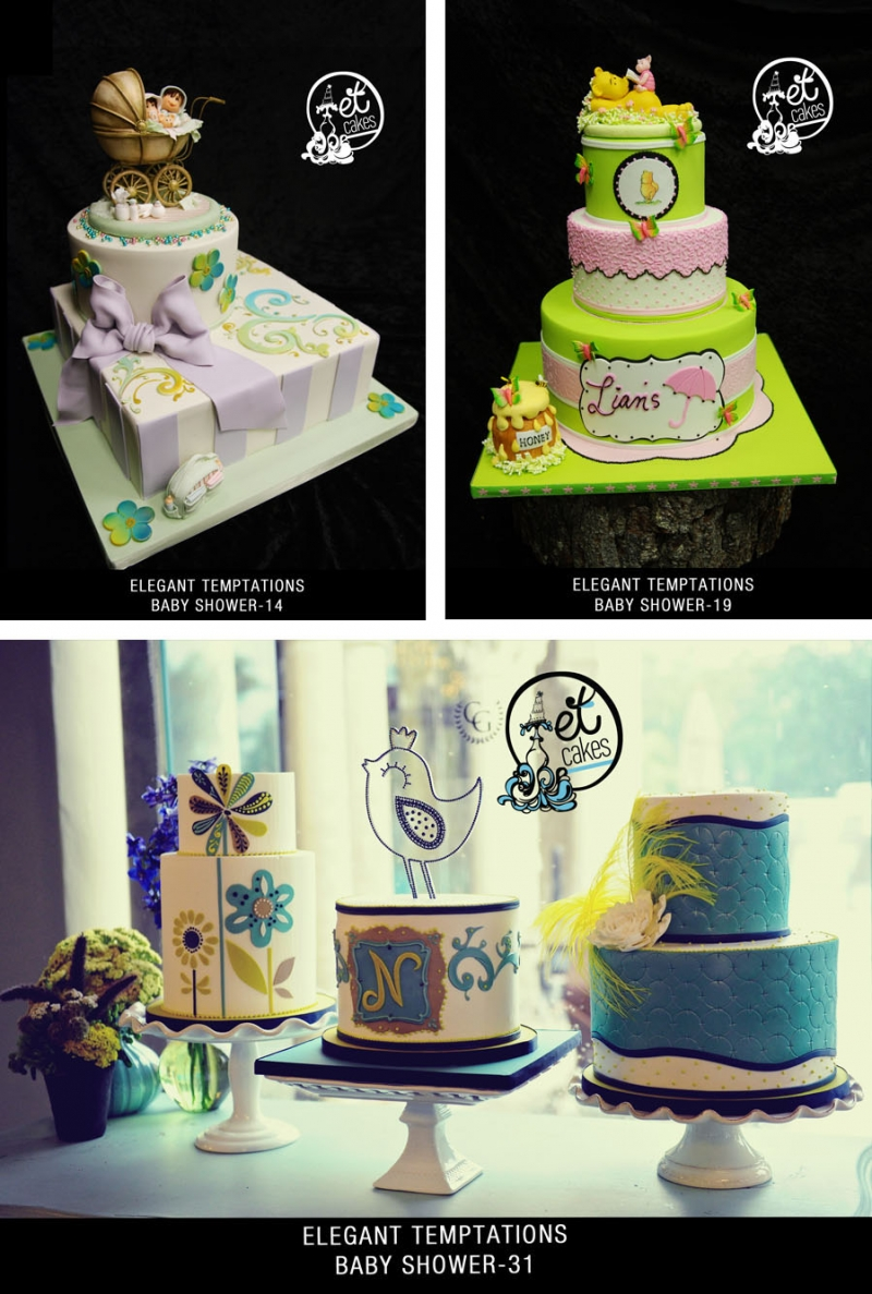 Miami Baby Showers Cakes