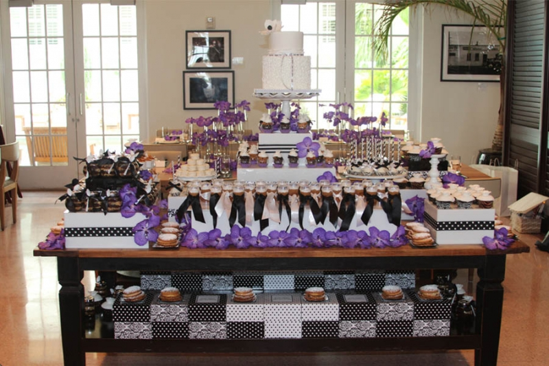 dessert station bridal shower  Miami Dessert Station: Enjoy Today | Diet Tomorrow