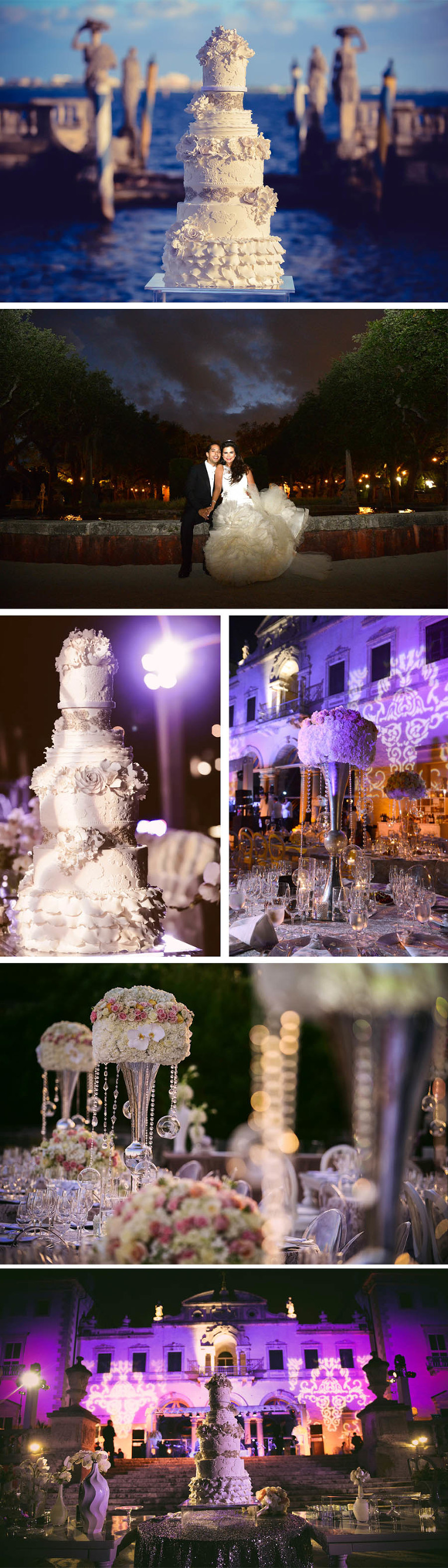 Vizcaya Wedding Cake
