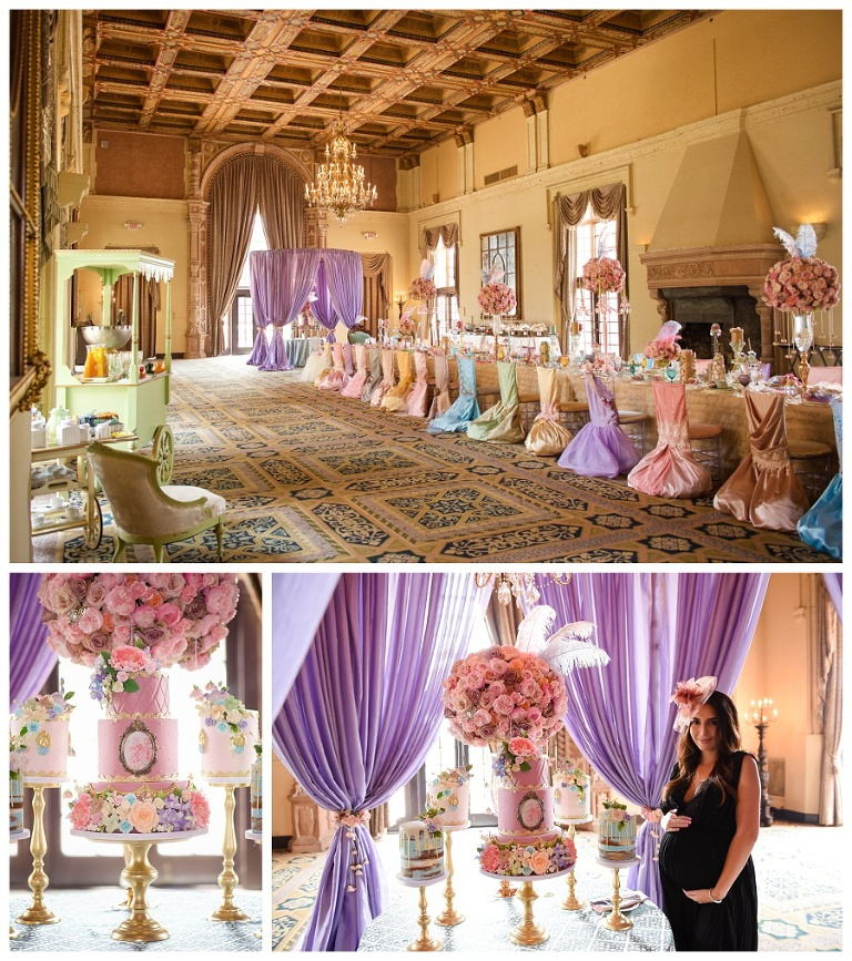 "Baby Shower In Miami: Laura's ""Marie Antoinette"" Themed Tea Party"