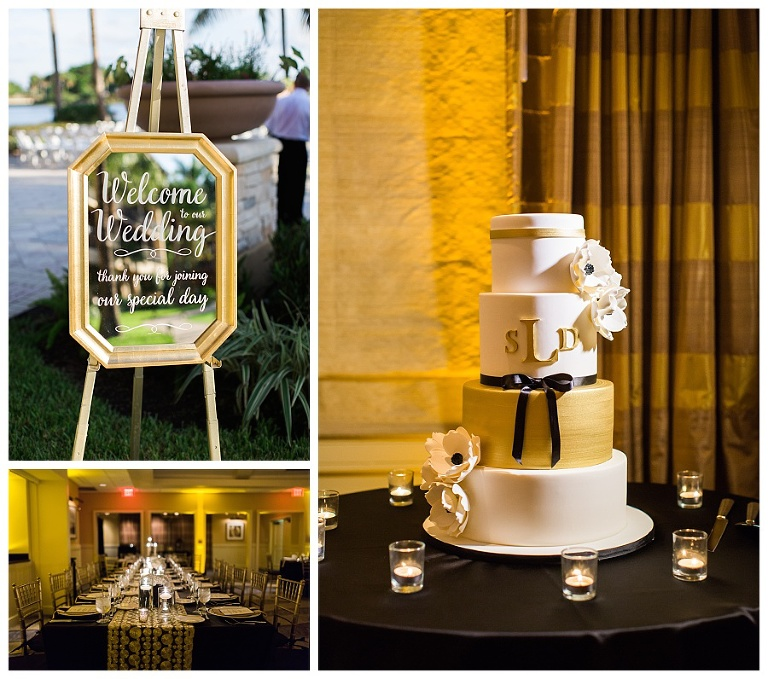 Stephanie & Daniel PGA National Resort & Spa Wedding Cake ...