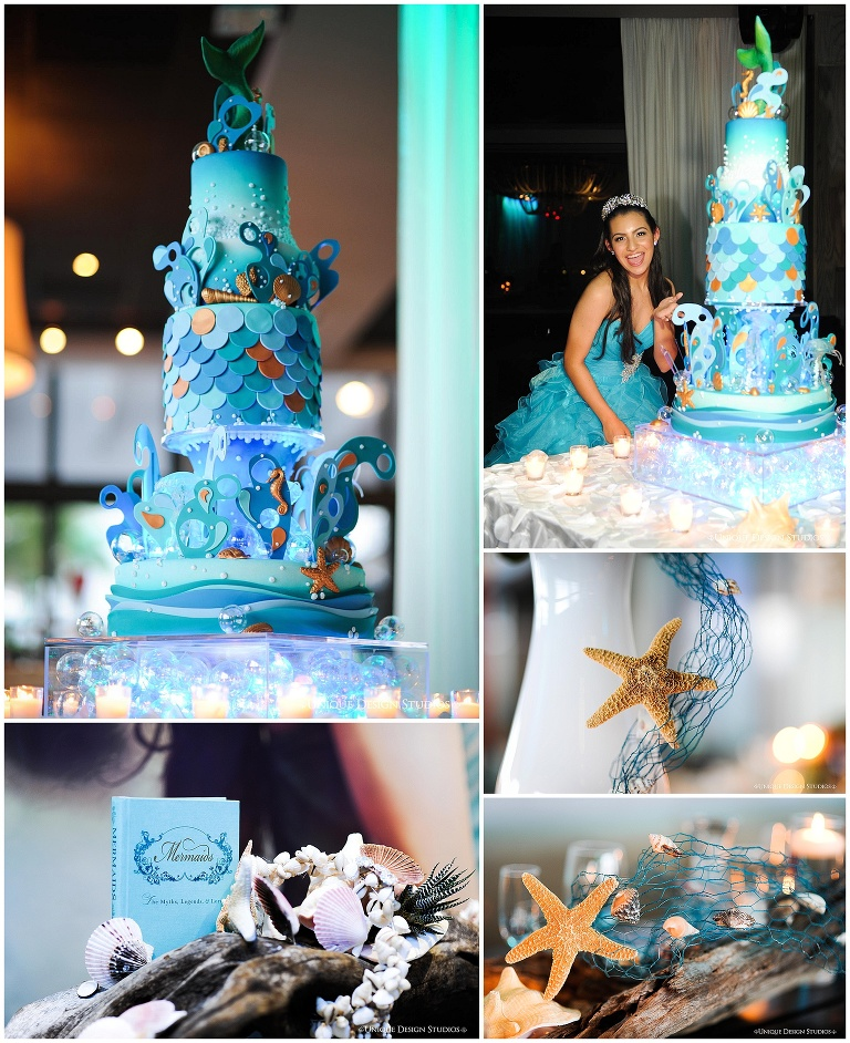 Gabys Under the Sea Quince Cake Miami Custom Cakes Elegant