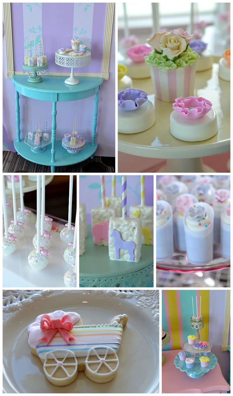 Miami Custom Baby Shower Cakes Dessert Station Etcakes