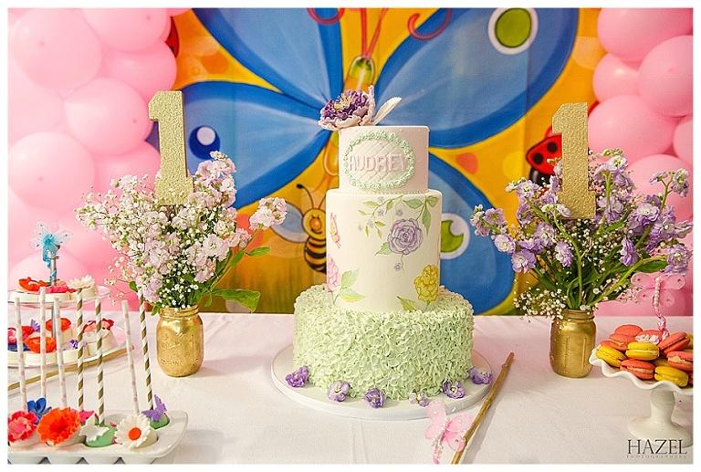 Audreys 1st Birthday Miami Custom Cakes Hazel Photographers