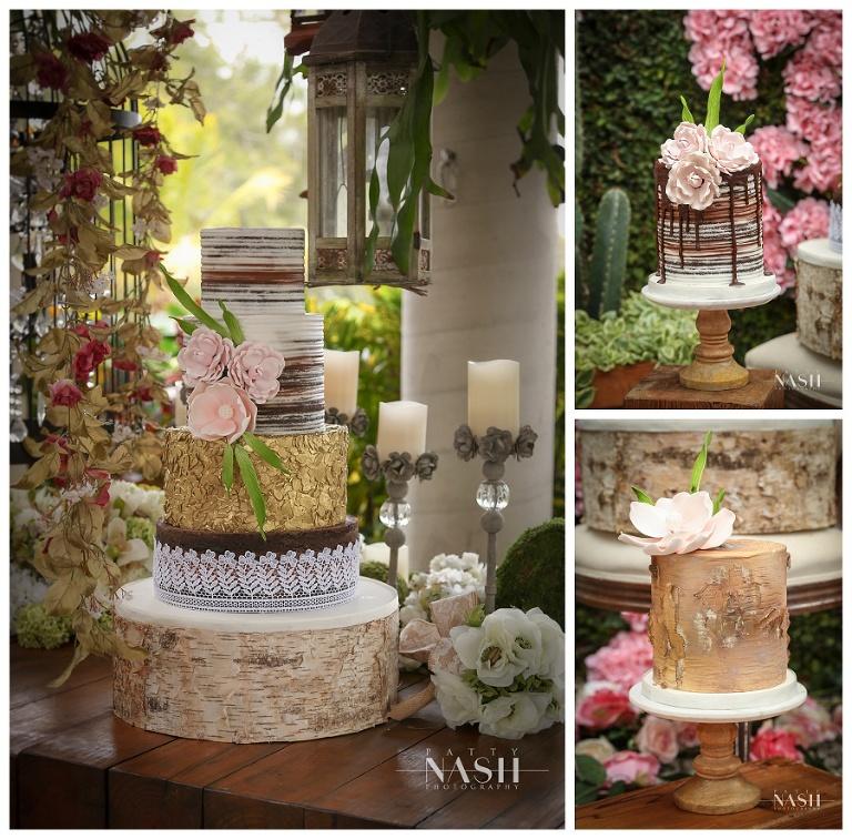 Bohemian Style Patty Nash Photography Miami Custom Cakes