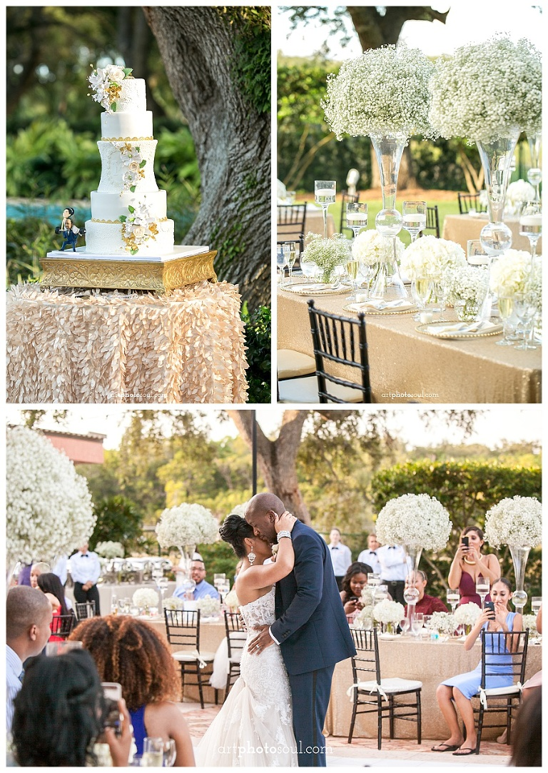 Elizandra Courtney S Wedding Cake By Elegant