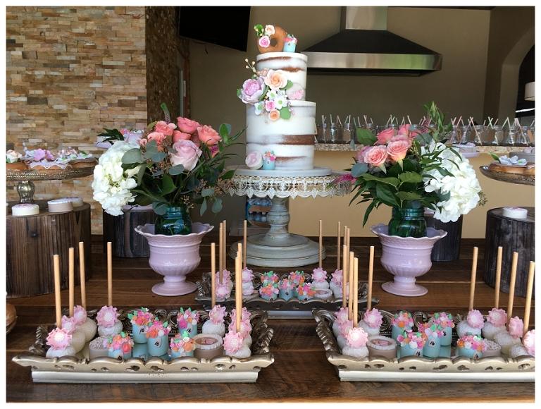 Biancas 16th Boho Chic Celebration Miami Custom Cakes Desserts