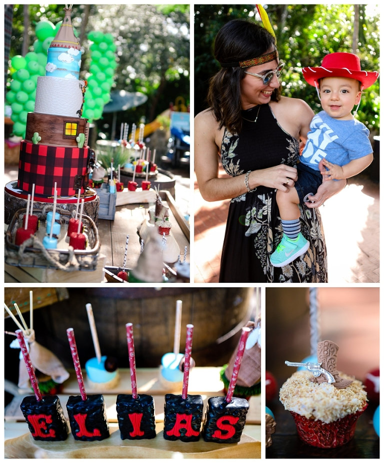Eliass 1st Birthday Cowboys And Indians By Etcakes Elegant