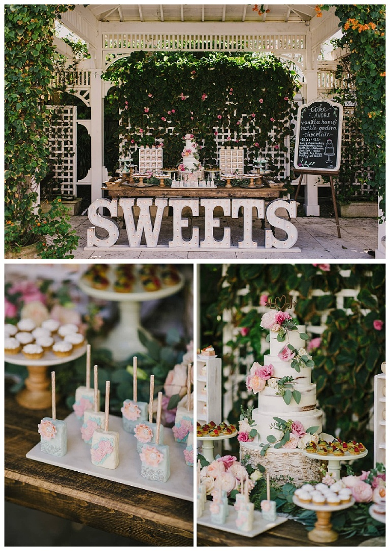 Lotte Josh The Palms Hotel Wedding Cake Sweets
