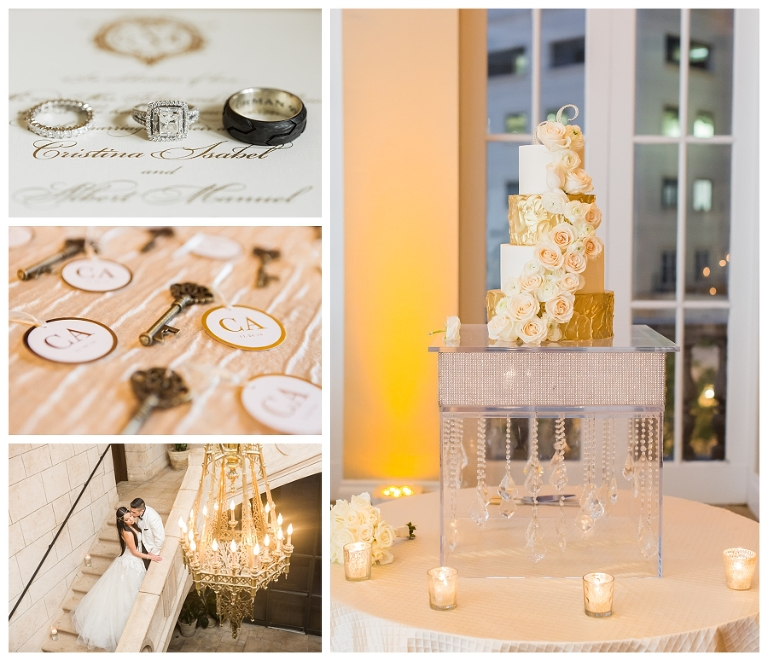 Cristina & Albert\'s Wedding Cake + Desserts | Elegant Temptations