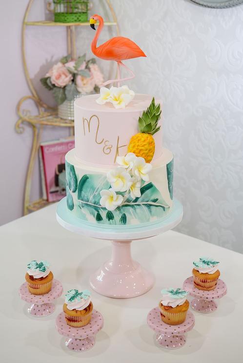 Miami Baby Shower Cakes