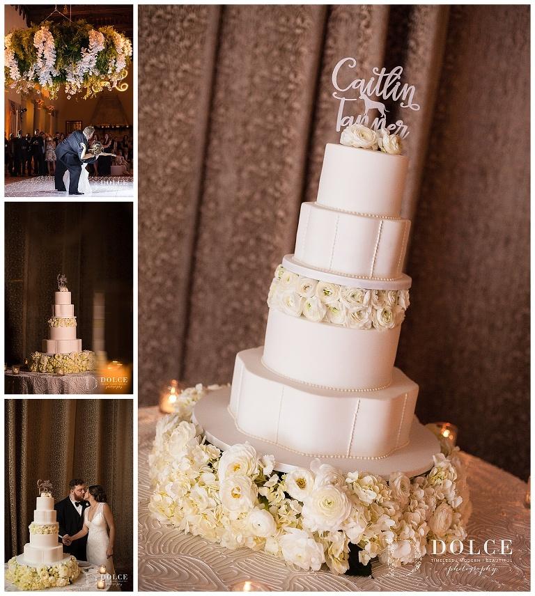 Caitlin & Tanner's Wedding Cake