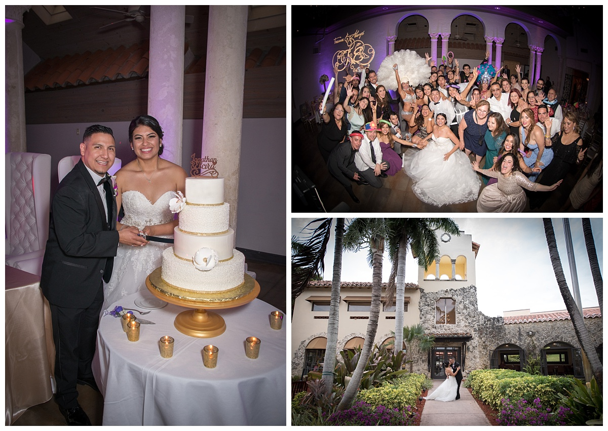 wedding cakes in miami elcira amp jonathan coral gables country club miami 24703