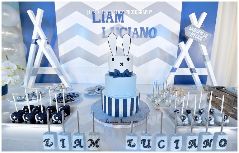 Liams Baby Shower Cake Desserts Miami Custom Cakes Elegant