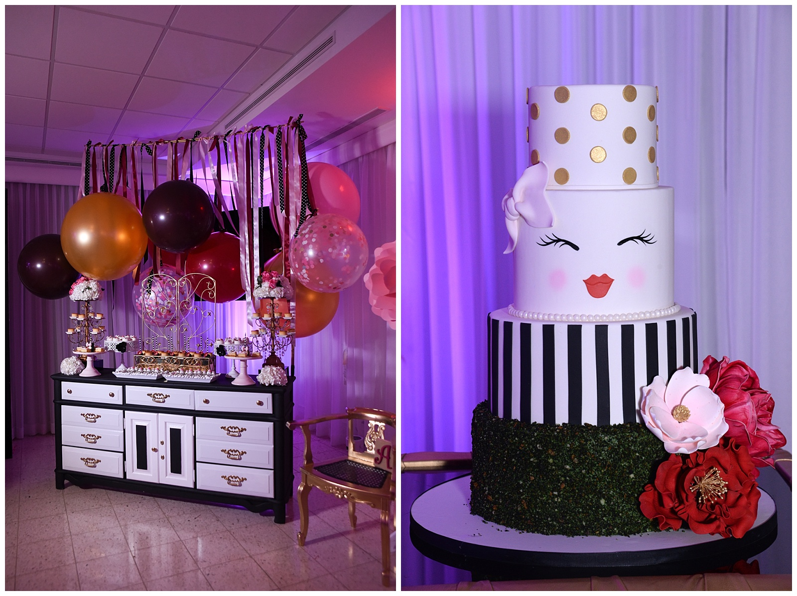 Leidy and Mikes Baby Shower Cake Desserts Elegant Temptations