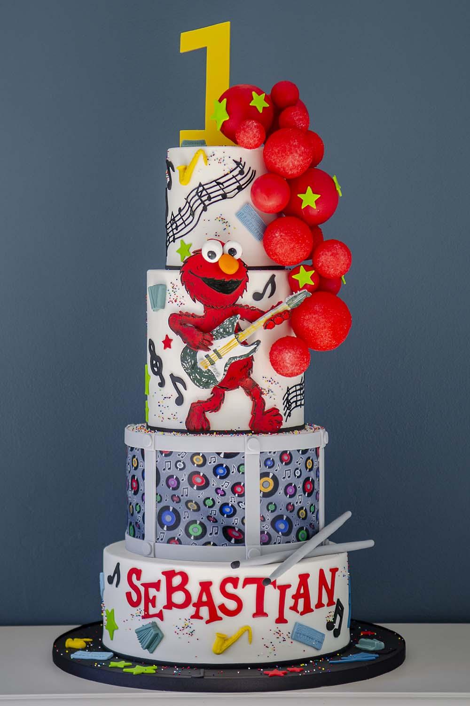 Admirable Elegant Temptations Bakery First Birthday Cakes Funny Birthday Cards Online Elaedamsfinfo